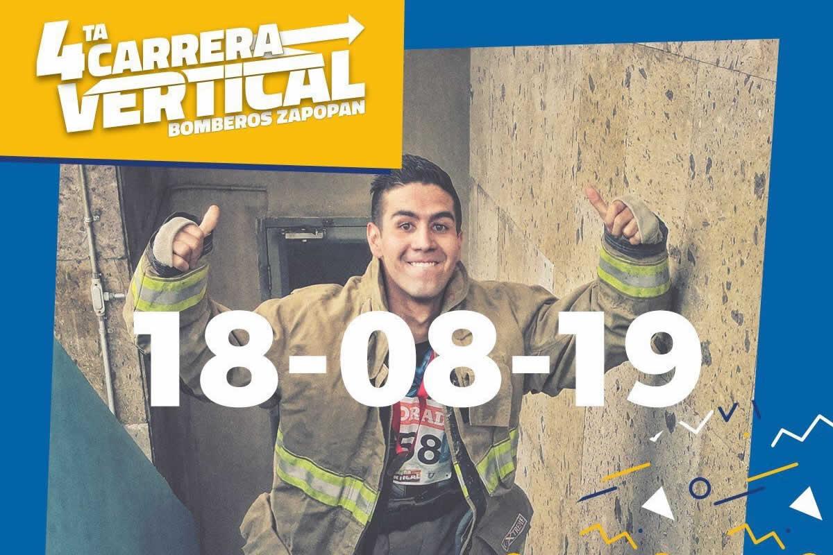Carrera Vertical Bomberos Zapopan 2019