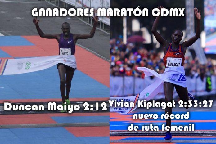 GANADORES MARATON CDMX 2019