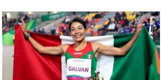 Medalla de oro de Laura Galvan en los 5000 metros en Lima 2019