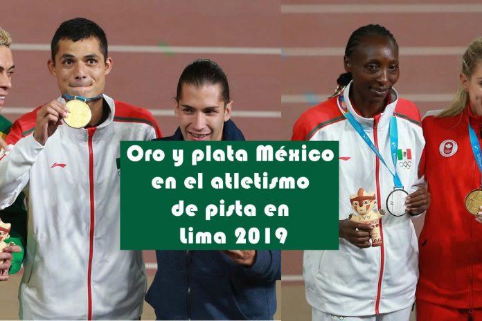 Oro y plata México en el atletismo de pista en Lima 2019