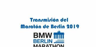 Transmisión del Maratón de Berlin 2019
