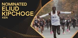 Eliud Kipchoge, candidato a Atleta del Año por la IAAF