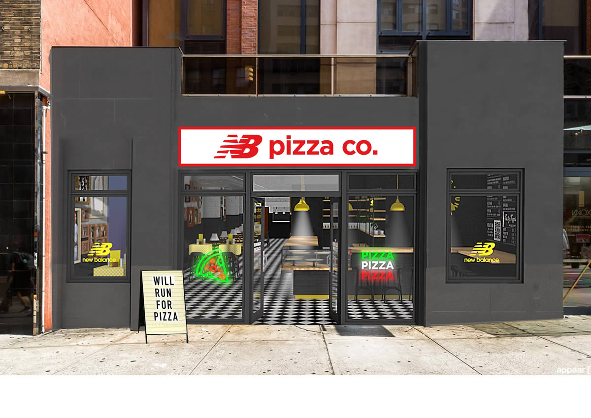 NEW BALANCE REVELA EL NB PIZZA CO