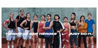 Tiempo de ser héroes de Nike México