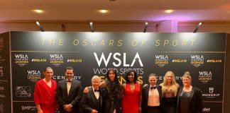 Recibe Ana Gabriela Guevara el World Sports Legends Award 2019 en Mónaco