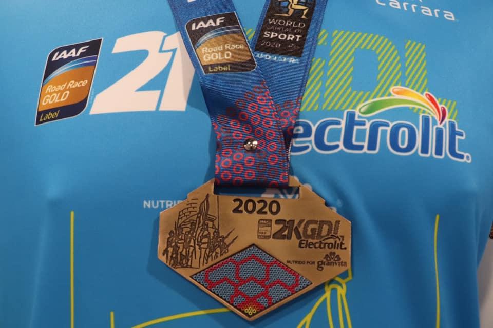 medalla 21k guadalajara electrolit 2020