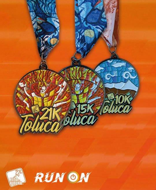 medallas reto de altura